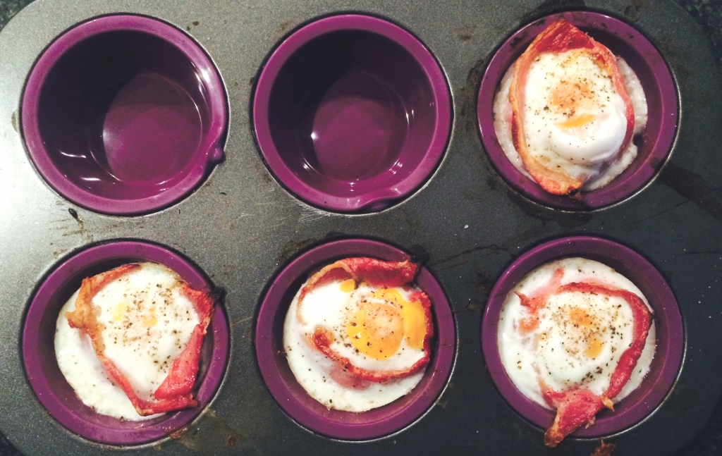 Bacon and Egg Baskets