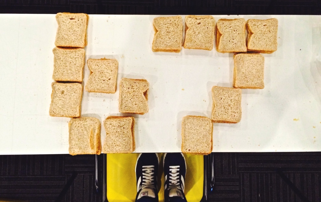 Making Sandwiches for 67 minutes on Mandela Day