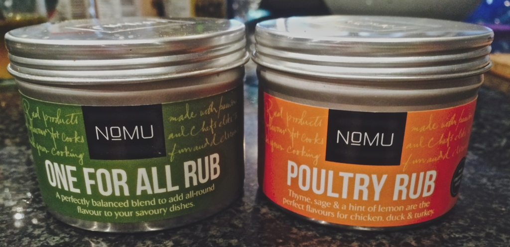 My favourite spice range, NoMU, finds its way into almost all of my cooking