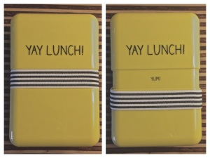 Lunch box, yay lunch