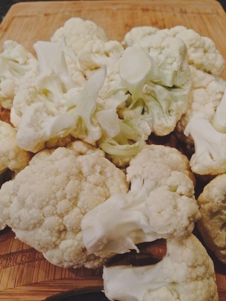 Cauliflower florets for the cauli mash