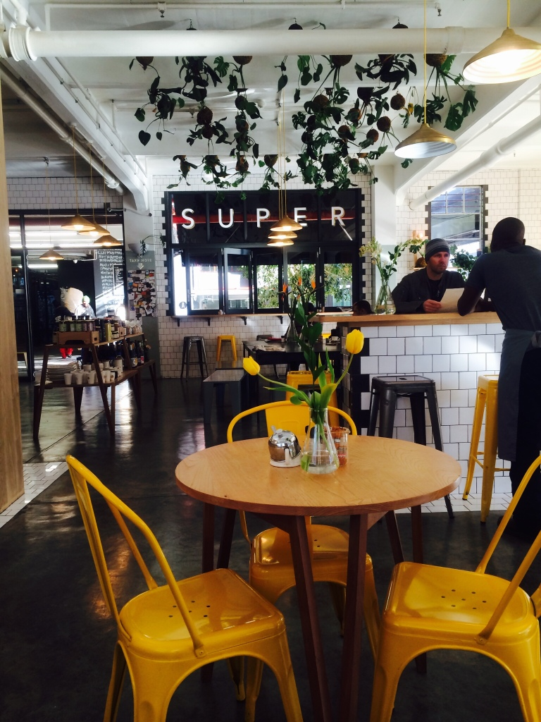Superette, in the Woodstock Exchange, Cape Town , healthy places to eat Cape Town