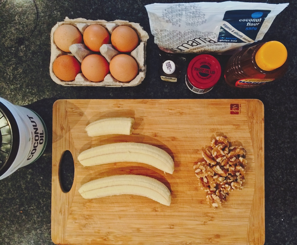 Ingredients for Jessica Sepel inspired healthy gluten-free, sugar-free muffins