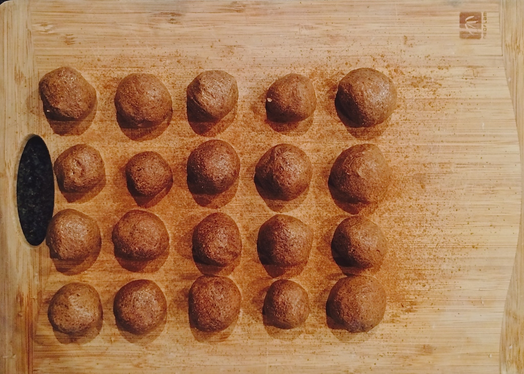 High Protein (boet) Peanut Butter Balls
