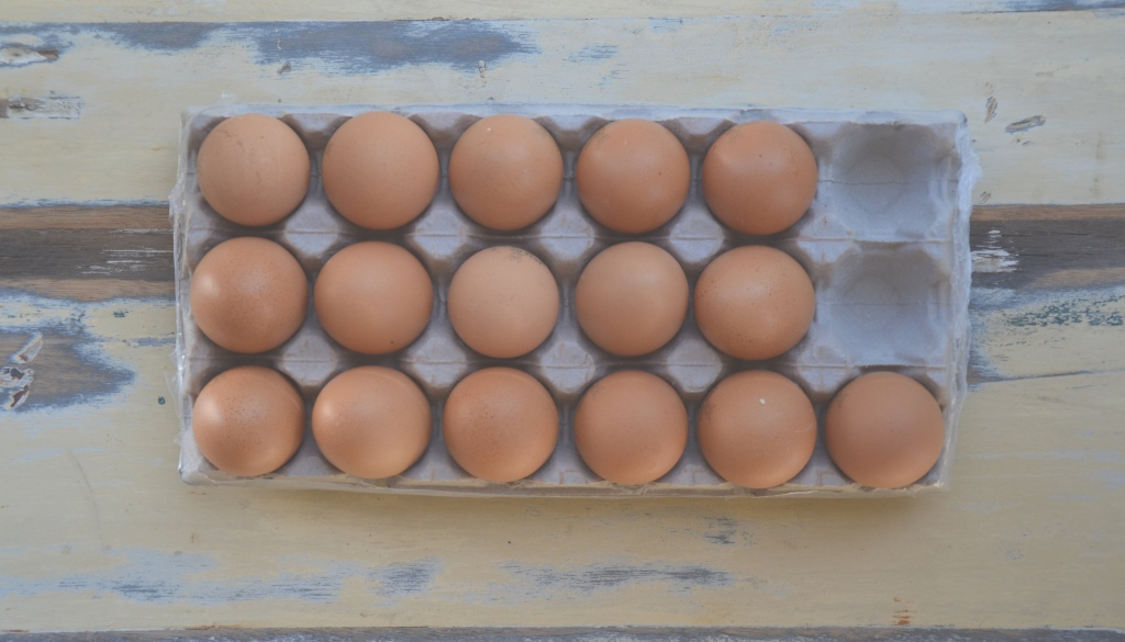 Free Range Eggs on food blog Cape Town