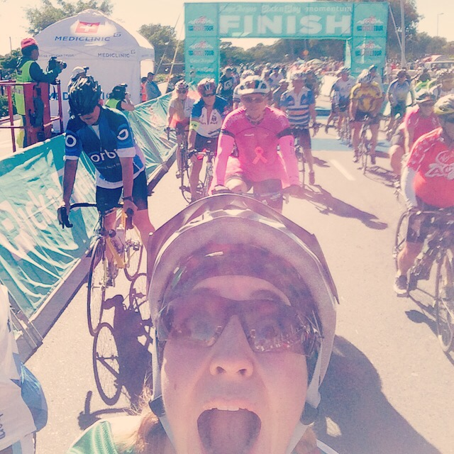 "Cape Town Cycle Tour ""Light""  finished"