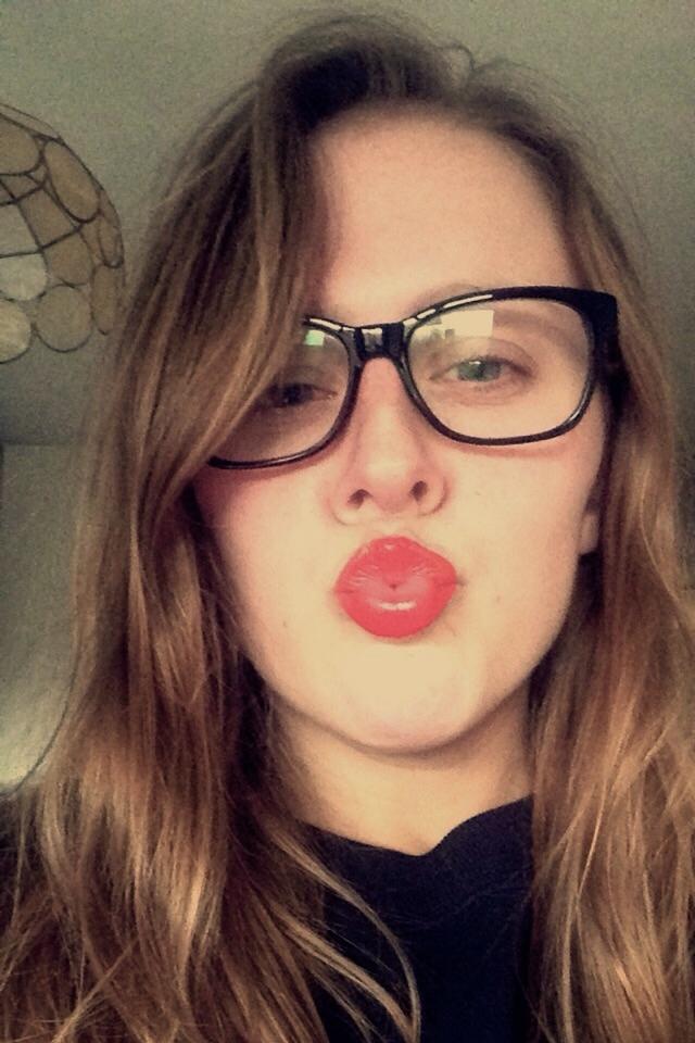 #RedMyLips Selfie