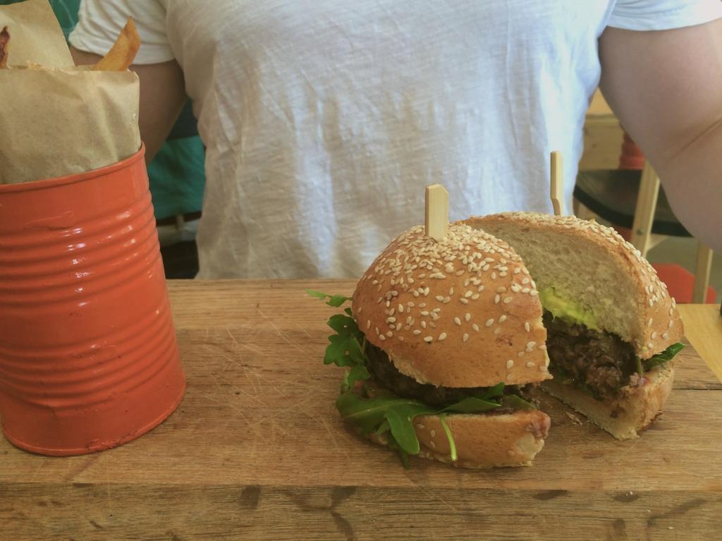 IYO Burgers in Bree street