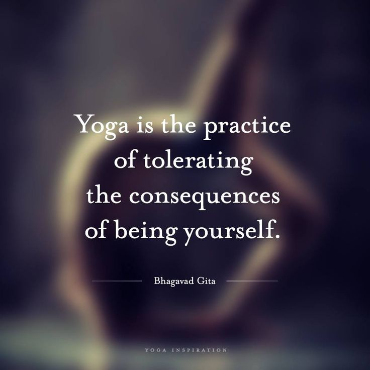 Yoga is about