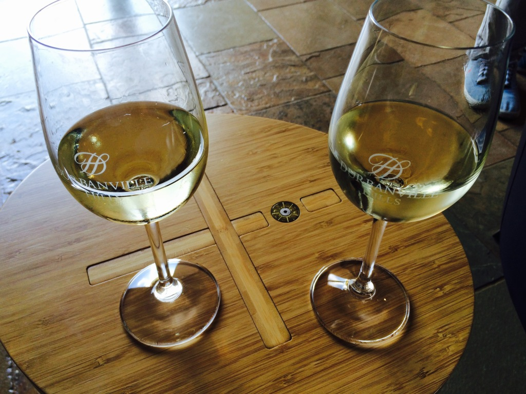 Welcome drinks at  Durbanville Hill Wine Estate  for Restaurant Week 2015 Launch