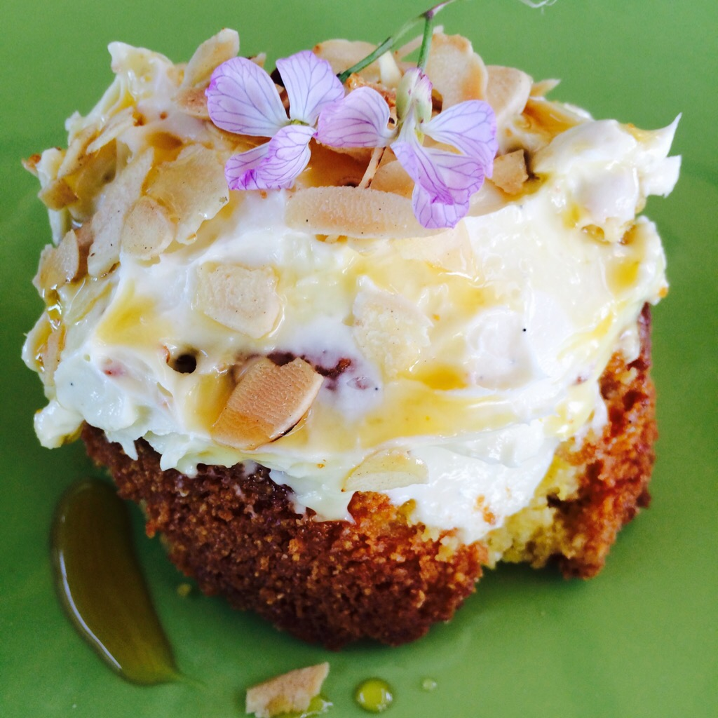 Gluten Free Orange and Polenta Cake