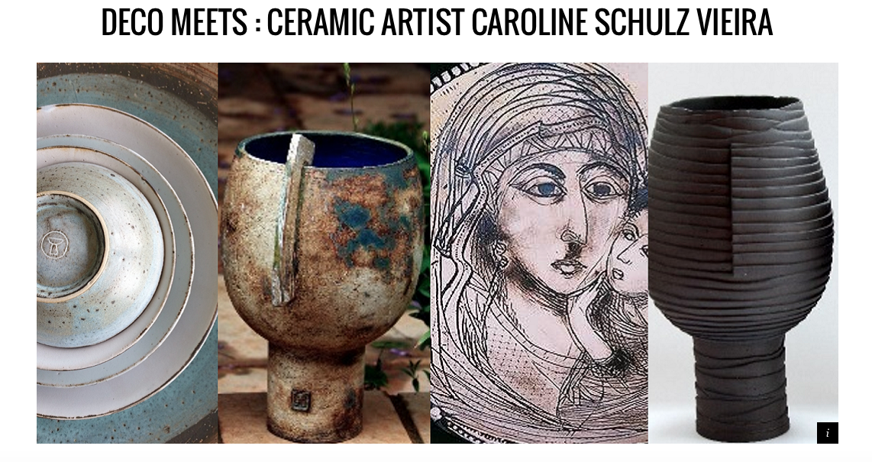 Caroline Schulze Vieira on Elle DECO online